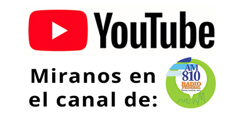 Mirá PAM® desde el canal de YouTube de AM810 los Sábados de 13 a 15 hs.